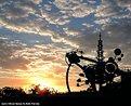 Picture Title - Astro Orbiter Sunset