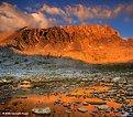 Picture Title - Golden Light, Mt. Humphreys
