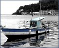 Picture Title - Blue fishing boat