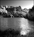 Picture Title - Pinnacles BW