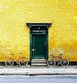Green door #95