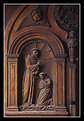 Picture Title - Carved door panel
