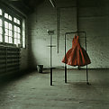 Amanda's red dress
