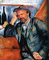 Picture Title - Paul Cezanne - The smoker
