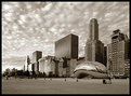 Picture Title - Morning Light in Sepia - Chicago.