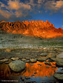 Picture Title - Alpenglow, Mt Humphreys