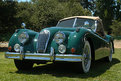 Picture Title - Old Fashion Car - Jaguar 1955