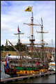 Picture Title - Tall Ship In dock