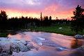 Picture Title - Tuolumne River Sunset