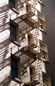 Picture Title - Fire Escape With Shadows
