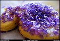 Picture Title - bitten, purple crystal cookie