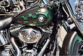 Picture Title - Green Harley