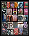 Picture Title - Coloured Alphabet