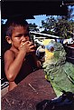 Picture Title - boy and his parrot