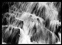 Picture Title - Waterfall in Black and White