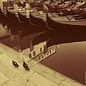 Picture Title - Two pigeons & Gondolas