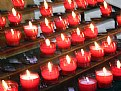 Picture Title - red candles