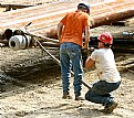 Picture Title - gas drillers at work