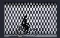 Picture Title - Chessboard & flipped biker