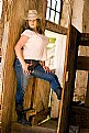 Picture Title - Aimee in the Barn