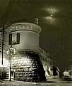 Picture Title - Rovato di notte : Scorcio di Piazza Palestro