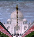 Reflecting on Taj Mahal