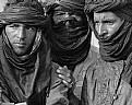 Picture Title - Three Men in b/w