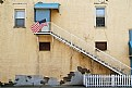 Picture Title - Flag over Alleyway