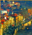 Picture Title - Sunset in Sarajevo
