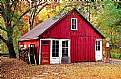 Picture Title - Red Shed