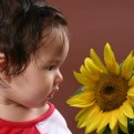 Picture Title - The Child and the Flower
