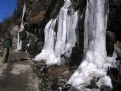 Picture Title - FROZEN WATERFALLS