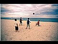 Picture Title - Football on the beach