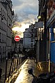 Picture Title - Wet street.