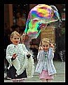 Picture Title - Kids enjoying big bubble burst