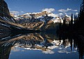 Picture Title - Bow Lake Sunrise