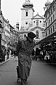 Picture Title - An old man on the old street
