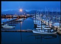 Picture Title - Seward Harbor Night