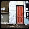 Picture Title - Orange Door