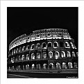 Picture Title - Colosseum at night