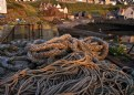 Picture Title - Ropes at St. Abbs