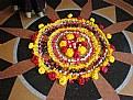 Picture Title - Floral Rangoli