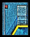 Picture Title - blue door