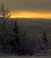 Picture Title - Sundown on the Hillside