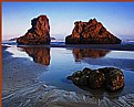 Picture Title - Sea Rock on Oregon Beach