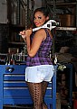 """Picture Title - """"Tool Girl"""" Tishuana"""