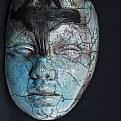 Picture Title - raku mask