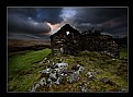 Picture Title - Old Ruin at  Sunset