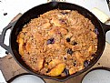 Picture Title - Peach and Blueberry Crisp