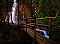 Picture Title - Last Footbridge to the Waterfall